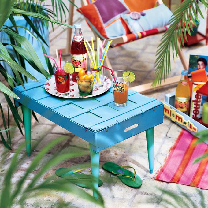 Comment faire table jardin en bois