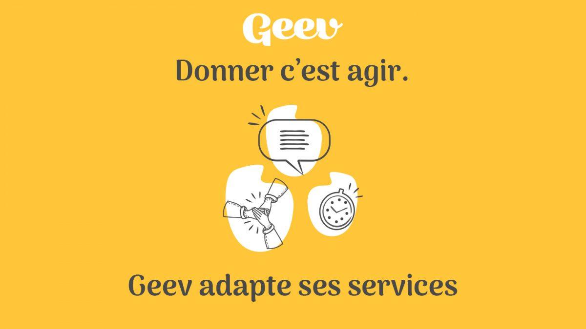 COVID-19 : Geev adapte ses services pour faciliter l'entraide