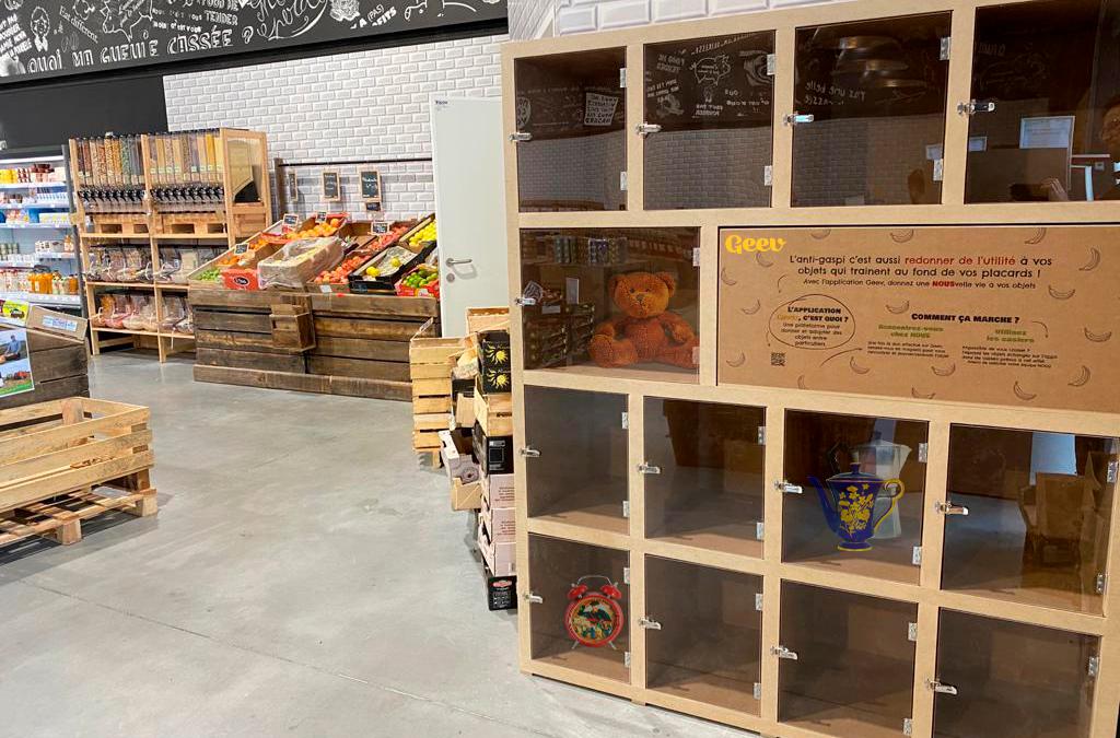 On lance un service de dons en magasin avec les épiceries NOUS anti-gaspi !