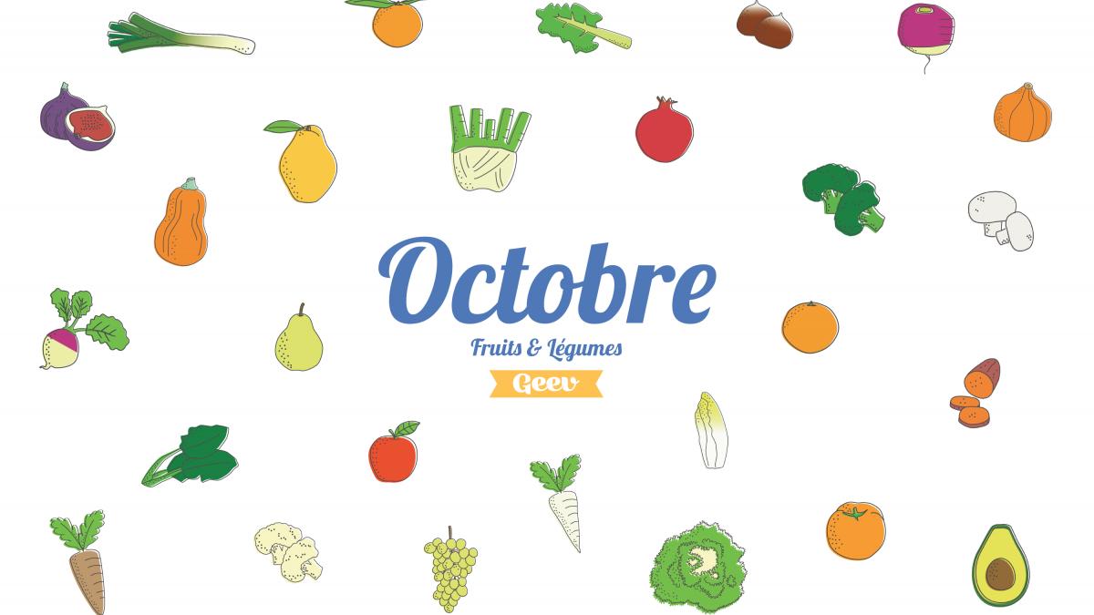 Les fruits et légumes à consommer en octobre