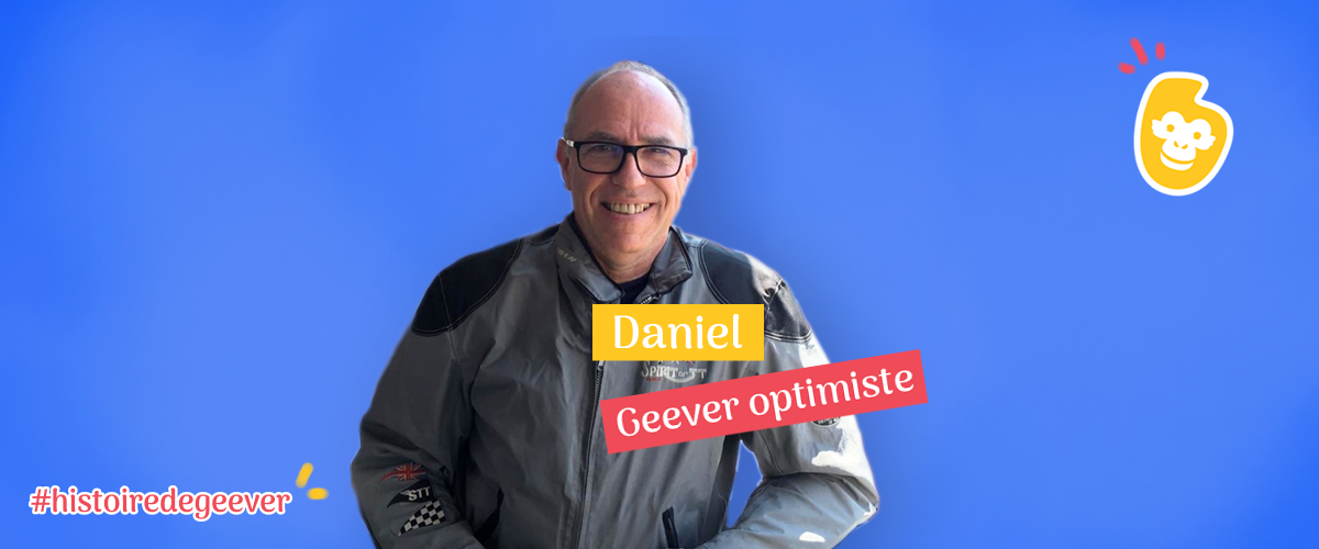 Daniel, un Geever généreux : donner pour rendre les gens heureux