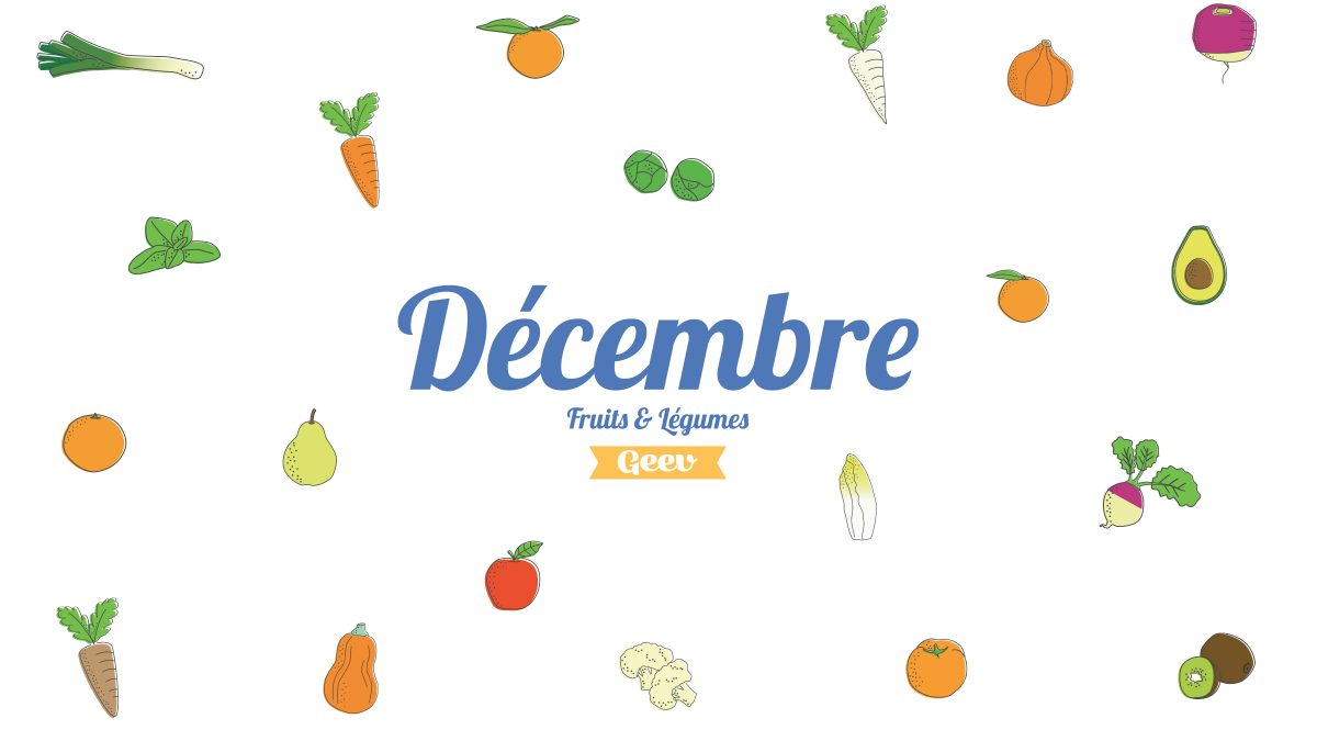 Les fruits et légumes à consommer en décembre