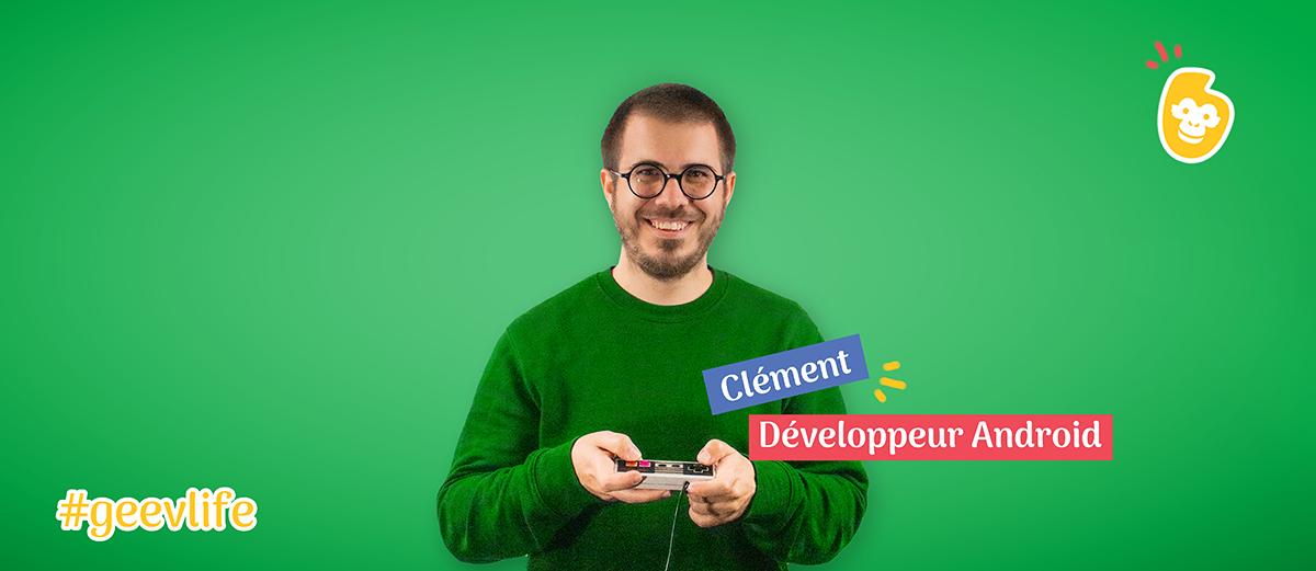 Clément : développeur Chez Geev.