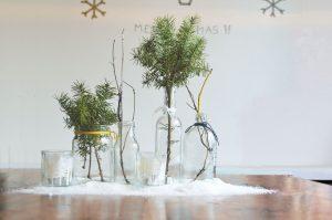 pot plantes déco Noël