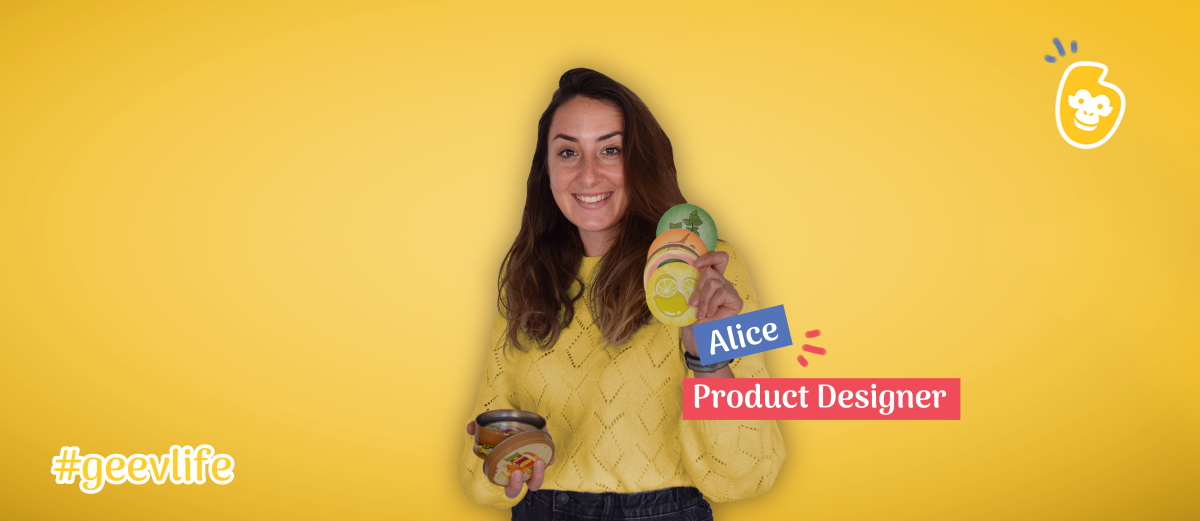 Alice, product designer chez Geev