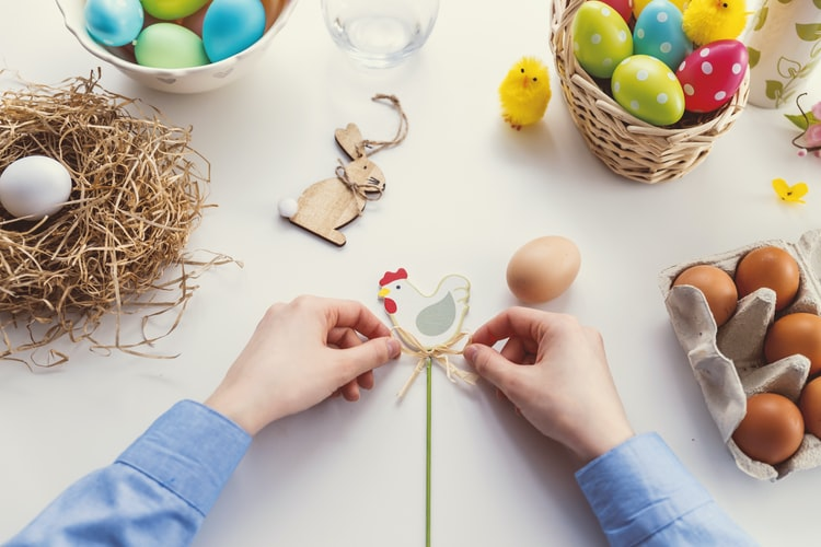 Pâques : des idées d'activités écolo à faire avec ses enfants