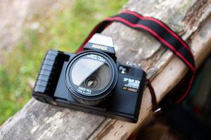 appareil photo argentique Axelle Geeveuse