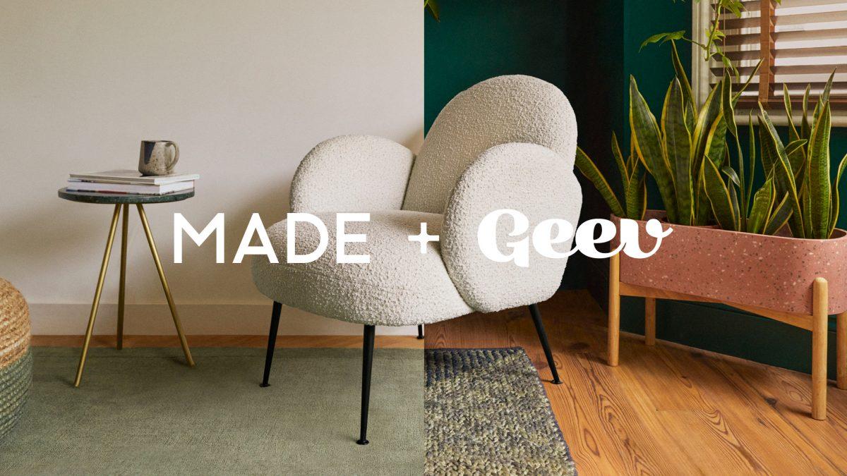 MADE s'associe à Geev pour donner une seconde vie aux objets