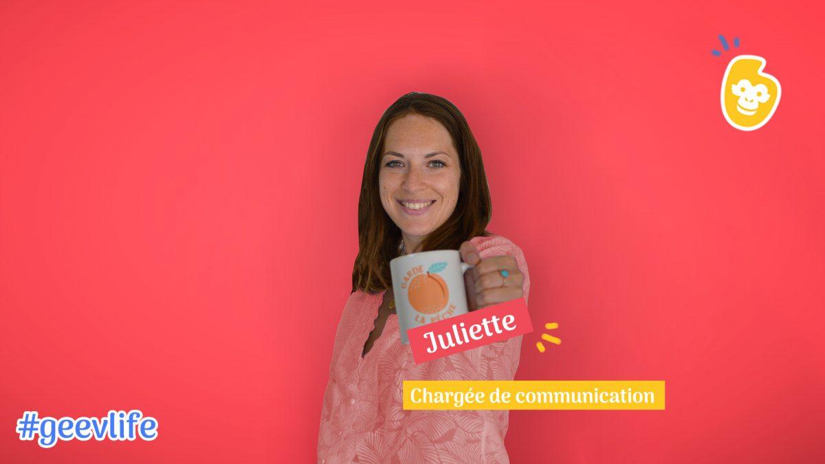 Rencontre avec Juliette, qui met en lumière sa créativité chez Geev
